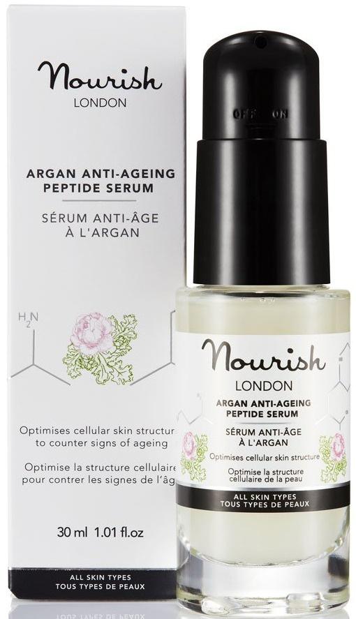 Nourish London Argan Anti-Ageing Peptide Serum