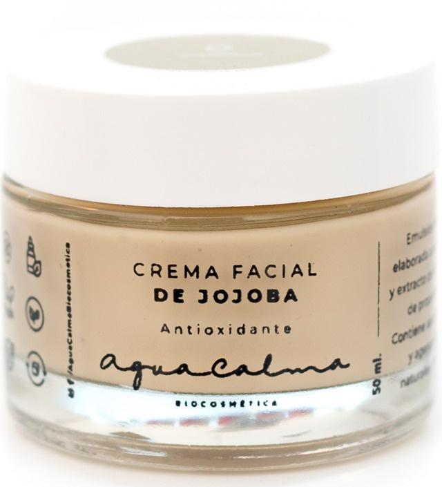 AguaCalma Crema Facial De Jojoba Antioxidante