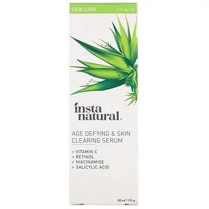 InstaNatural Age-Defying & Skin Clearing Serum, Anti-Aging
