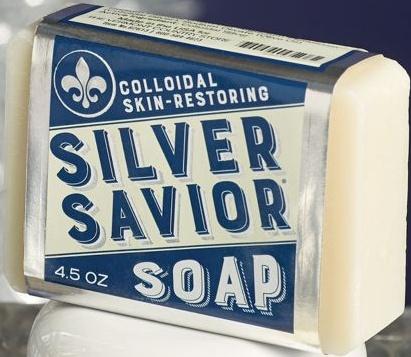 SILVER SAVIOR Bath And Body Soap