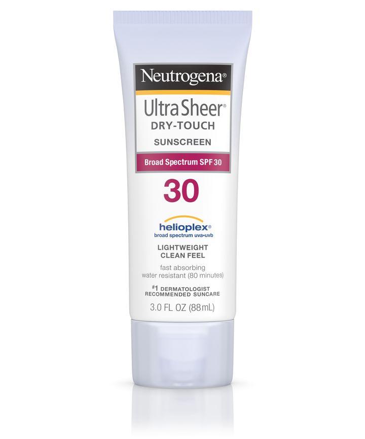 Neutrogena Ultra Sheer Dry-Touch Sunscreen Broad Spectrum Spf 30