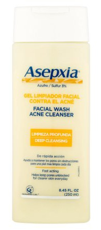 Asepxia Acne Facial Cleanser