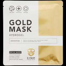 Action 2 Part Gold Mask