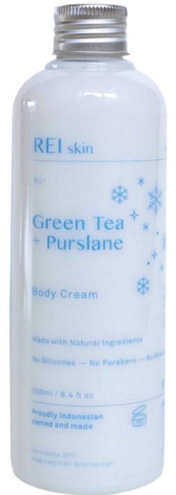 REI skin Green Tea & Purslane Resurrecting Body Cream
