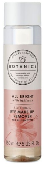 Boots Botanics All Bright Soothing Eye Makeup Remover