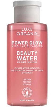 Luxe Organix Power Glow Micellar Cleansing Beauty Water