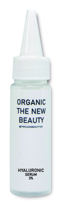 ORGANIC THE NEW BEAUTY 3% Hyaluronic Acid Face Serum-In-Lecithin