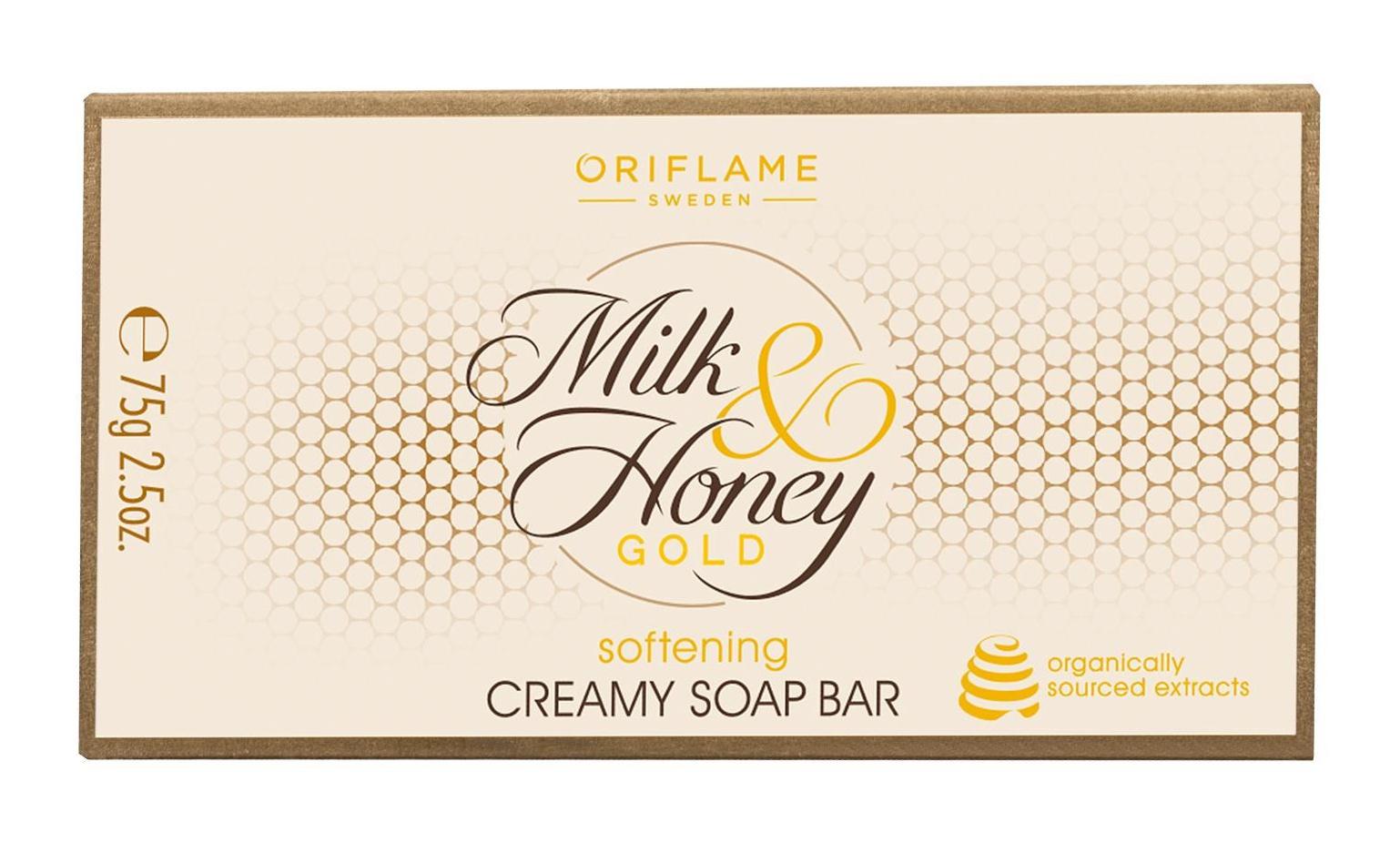 Oriflame Milk & Honey Gold Softening Creamy Soap Bar