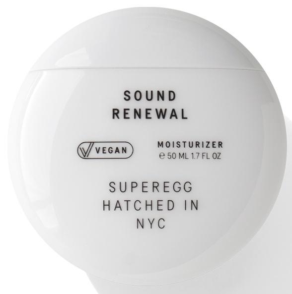 Superegg Sound Renewal Moisturizer