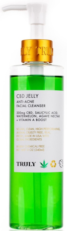Truly CBD Jelly Anti-Blemish Facial Cleanser