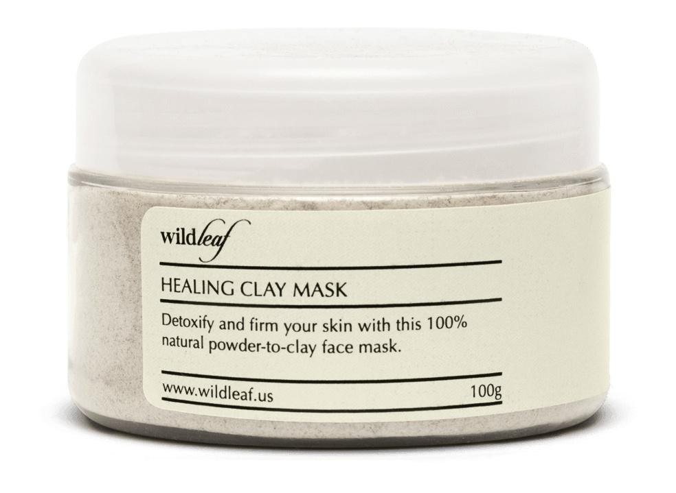 Wildleaf 100% Natural Healing Clay Mask