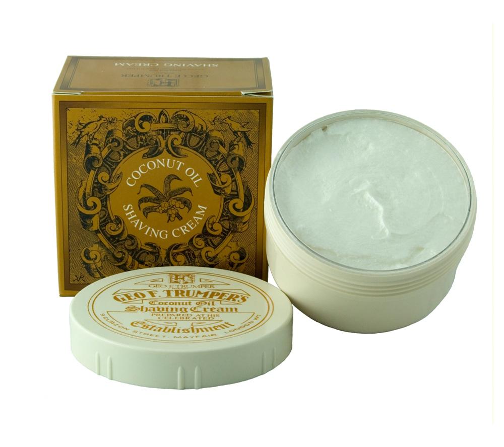 Geo. F. Trumper. Coconut Oil Soft Shaving Cream