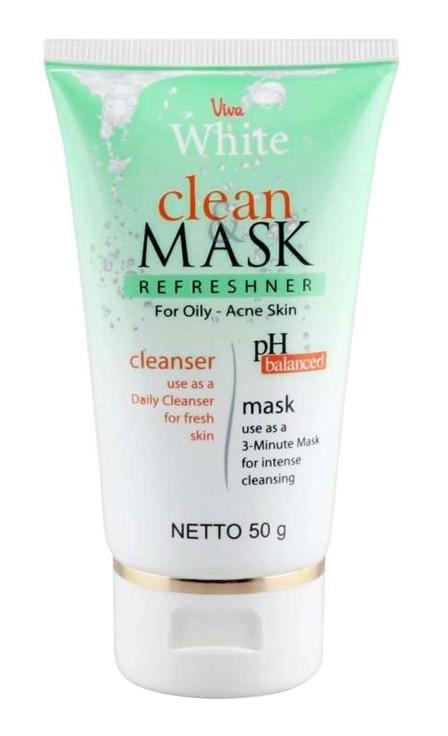 Viva Clean & Mask Refreshner For Oily - Acne Skin