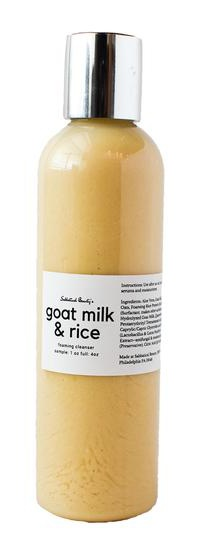Sabbatical Beauty Goat Milk And Rice Cleanser