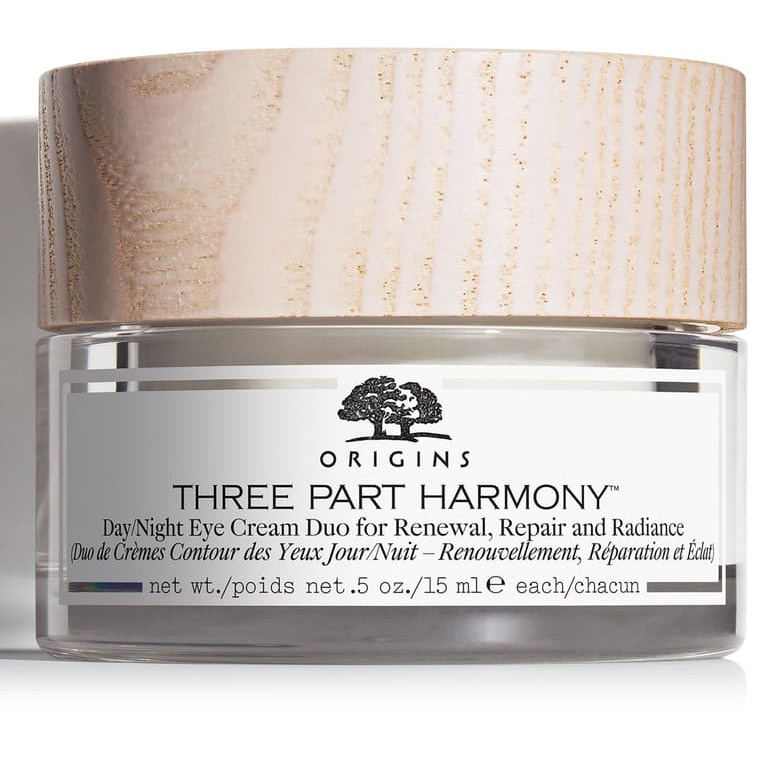Origins Three Part Harmony™ Day & Night Eye Cream Duo for Renewal, Repair and Radiance