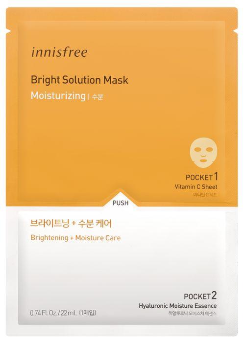 innisfree Bright Solution Mask [Moisturizing]
