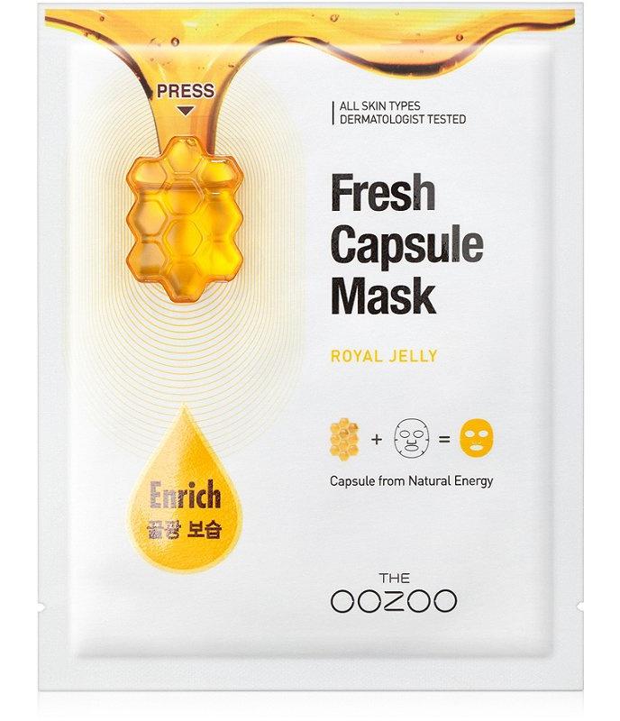 The Oozoo Fresh Capsule Mask Royal Jelly