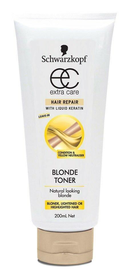 Schwarzkopf Extra Care Blonde Toner