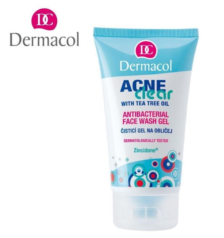 Dermacol Acne Clear (Antibacterial Face Wash Gel)