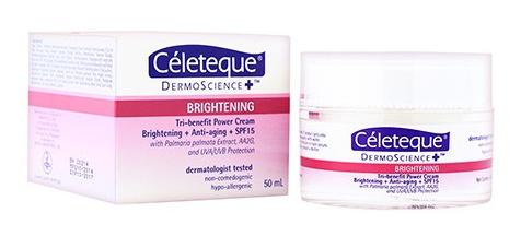 Celeteque Brightening Tri-Benefit Power Cream