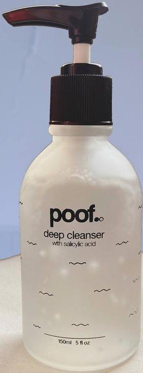 Poof Deep Cleanser W/ Salicylic Acid