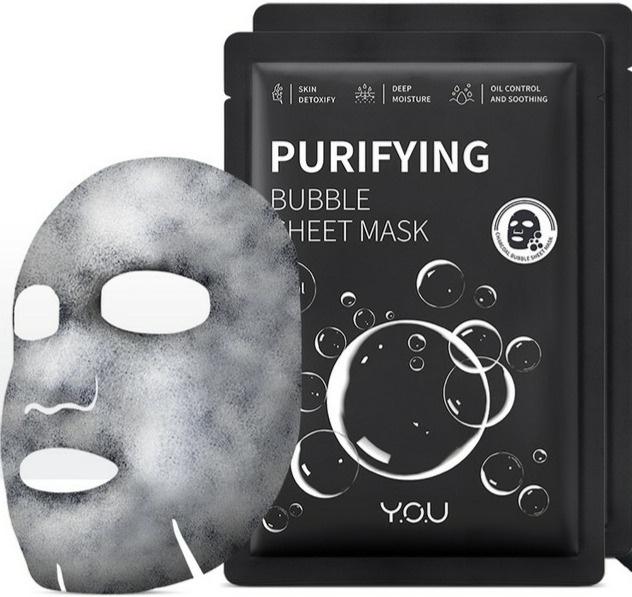 Y.O.U. Purifying Bubble Sheet Mask