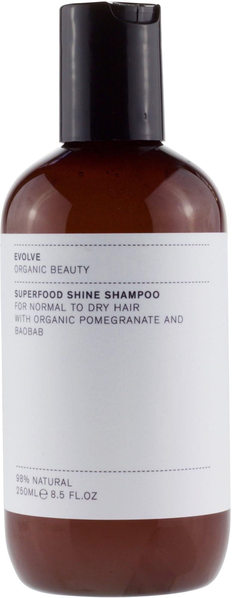 Evolve Organic Beauty Superfood Shine Shampoo