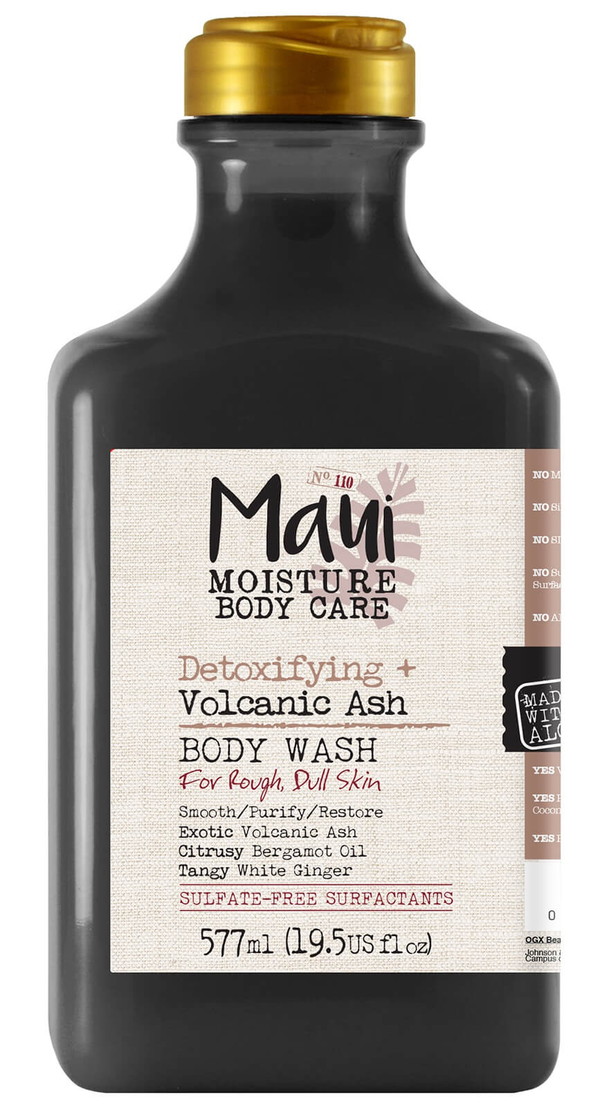Maui moisture Detoxifying+ Volcanic Ash Body Lotion
