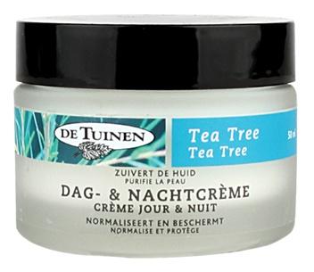 De Tuinen Tea Tree Dag En Nachtcrème