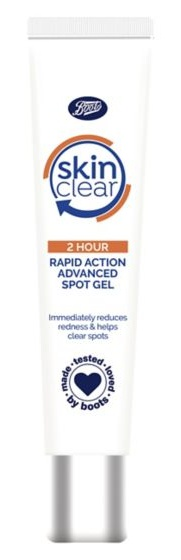 Boots Skin Clear 2 Hour Rapid Action Spot Gel