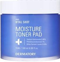 Dermatory Pro Hyal Shot Moisture Toner Pad