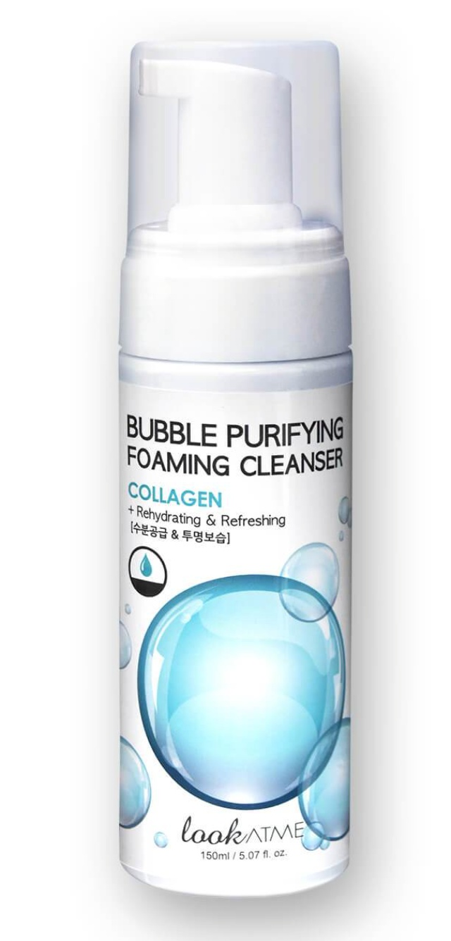 Look at me Bubble Purifying Foaming Cleanser Collagen