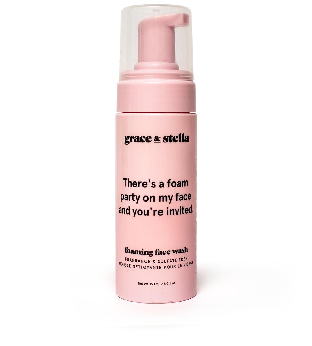 grace & stella Foaming Face Wash