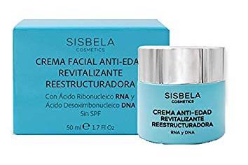 Sisbela Cosmetics Crema Facial Anti-Edad Revitalizante Reestructuradora Rna & Dna