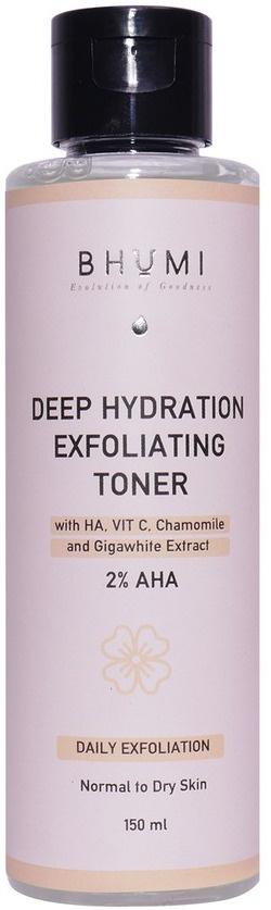 Bhumi Deep Hydration Exfoliating Toner 2%Aha