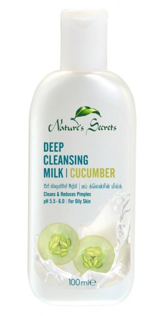 nature's secret Deep Cleansing Milk Cucumber