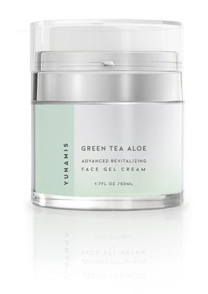 YunaMis Skincare Green Tea Aloe Gel Cream