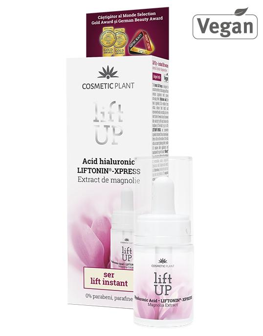 Cosmetic Plant Lift Up - Ser Lift Instant Cu Acid Hialuronic, Liftonin®-Xpress Și Extract De Magnolie