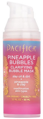 Pacifica Pineapple Bubbles Clarifying Bubble Mask
