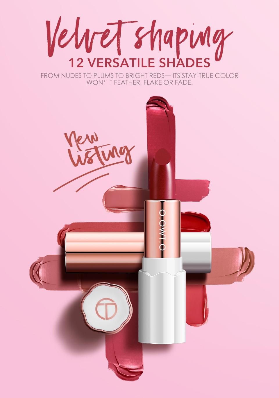 O.TWO.O Velvet Shaping Lipstick