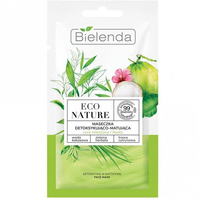 Bielenda Eco Nature | Detoxifying And Mattifying Face Mask
