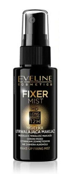 Eveline Cosmetics Make-Up Fixing Mist HD Long Lasting Formula 12H
