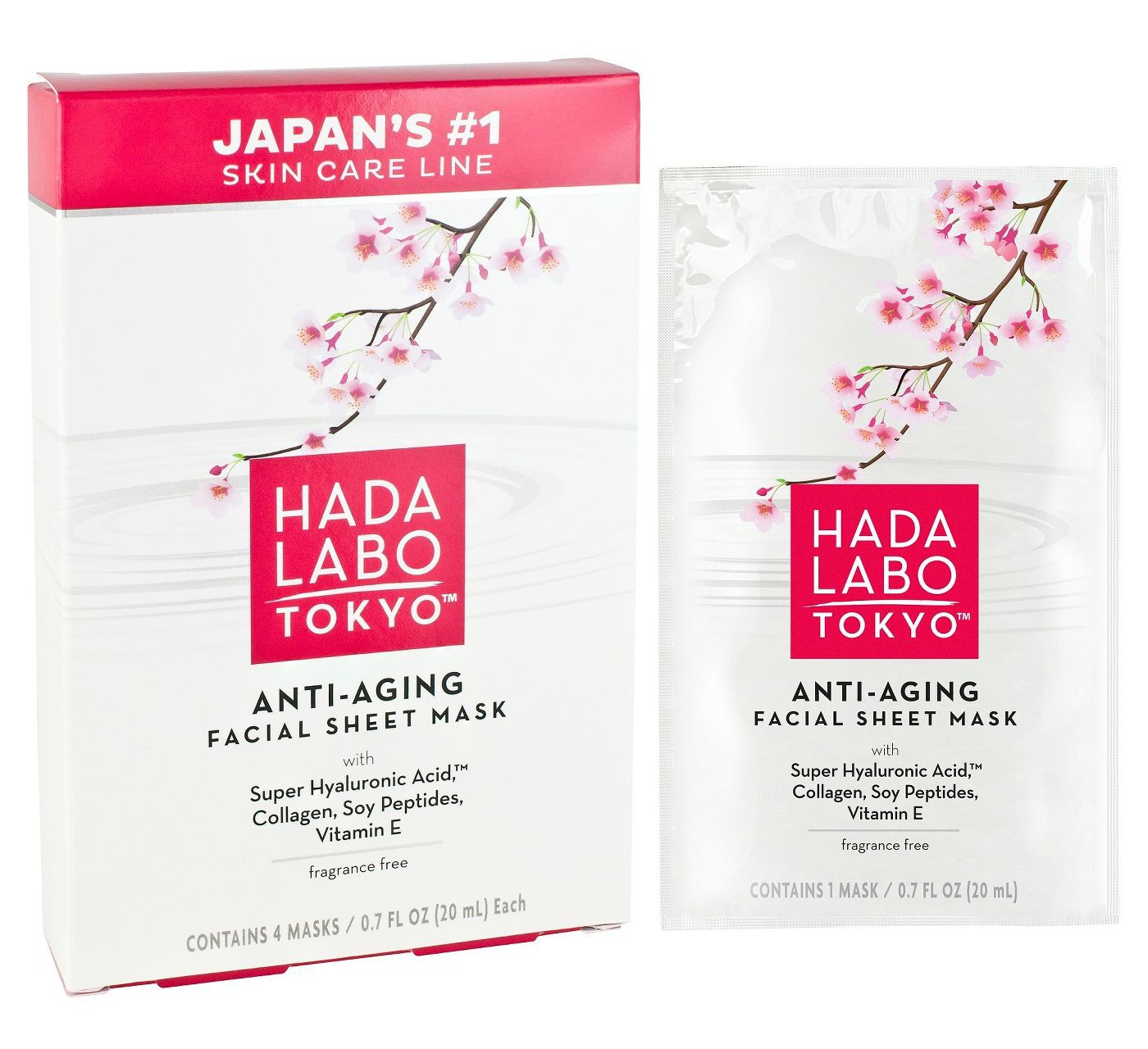 Hada Labo Unscented Hada Labo Tokyo Anti-Aging Face Mask