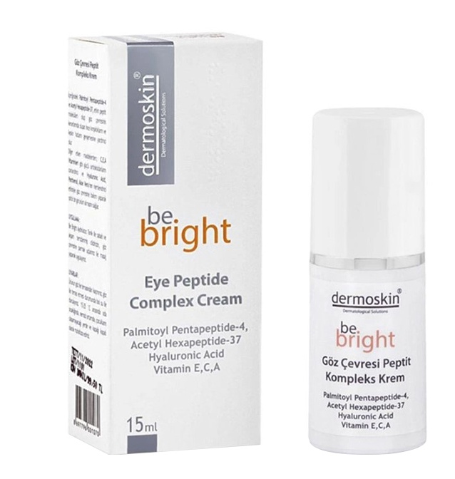 Dermoskin Be Bright Eye Peptide Comples Cream
