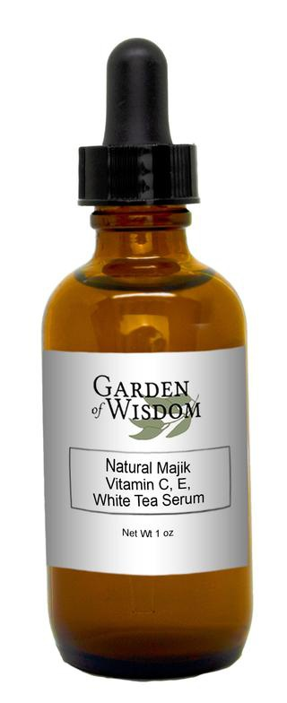 Garden of Wisdom Natural Majik Vitamin C, E, White Tea Serum
