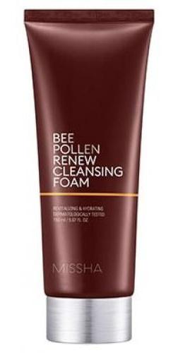 Missha Bee Pollen Renew Cleansing Foam