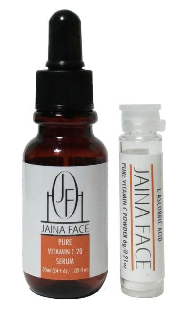 Jaina Face Pure Vitamin C 20 Serum
