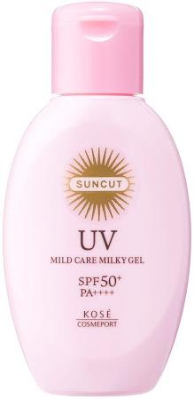 Kose Sun Cut Uv Mild Care Milky Gel Spf 50+ Pa++++