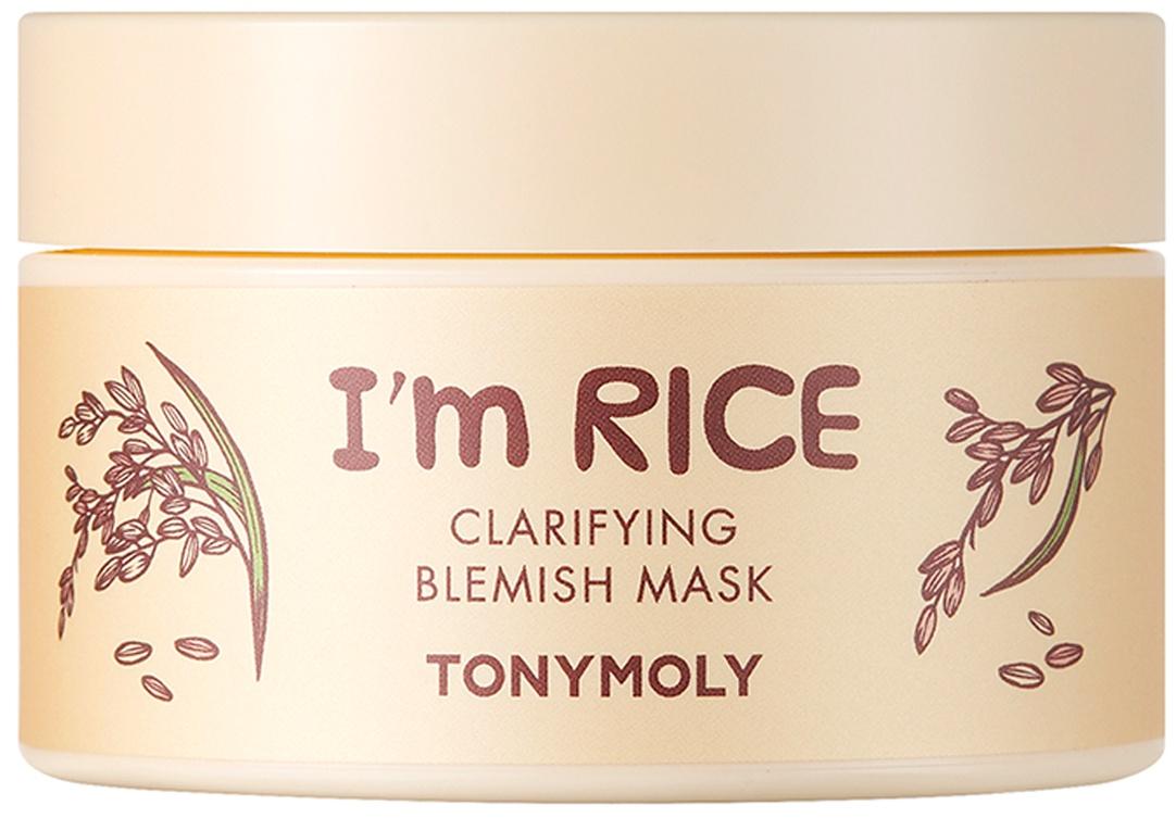 TonyMoly I'm Real Rice Clarifying Blemish Mask
