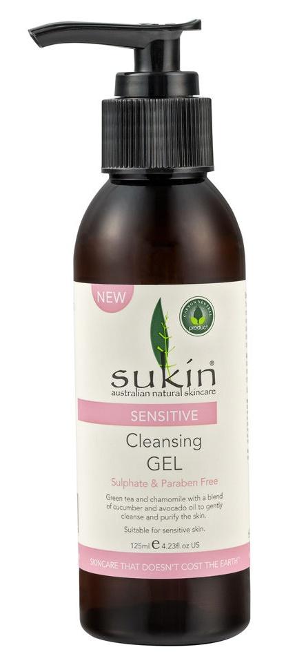 Sukin Sensitive Cleansing Gel
